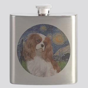 ORN-Cavalier2-StarryNight Flask