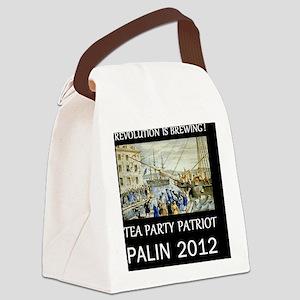 palin 2012d Canvas Lunch Bag
