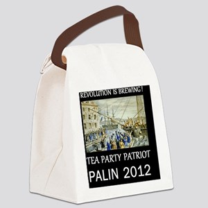 palin 2012dsm Canvas Lunch Bag