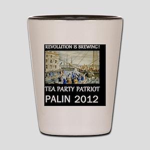 palin 2012dsm Shot Glass