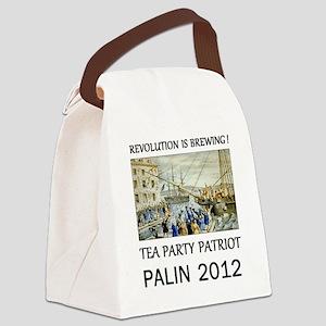 palin 2012 Canvas Lunch Bag
