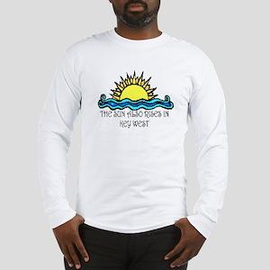 sun also rises key west Long Sleeve T-Shirt