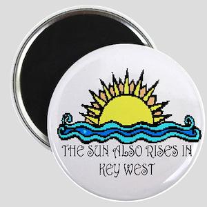 sun also rises key west Magnet