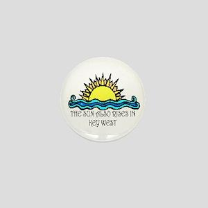 sun also rises key west Mini Button
