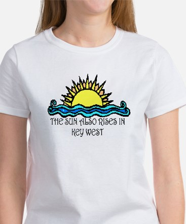 sun also rises key west Women's T-Shirt