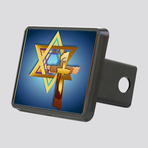Star Of David and Triple C Rectangular Hitch Cover