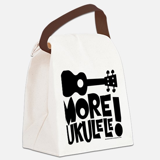 More Ukulele! Canvas Lunch Bag