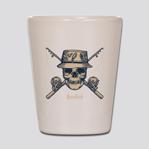 fisher-skull-DKT Shot Glass