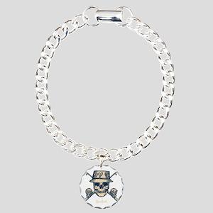 fisher-skull-DKT Charm Bracelet, One Charm