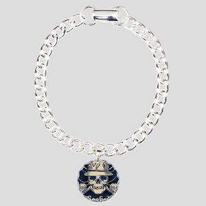 fisher-skull-OV Charm Bracelet, One Charm