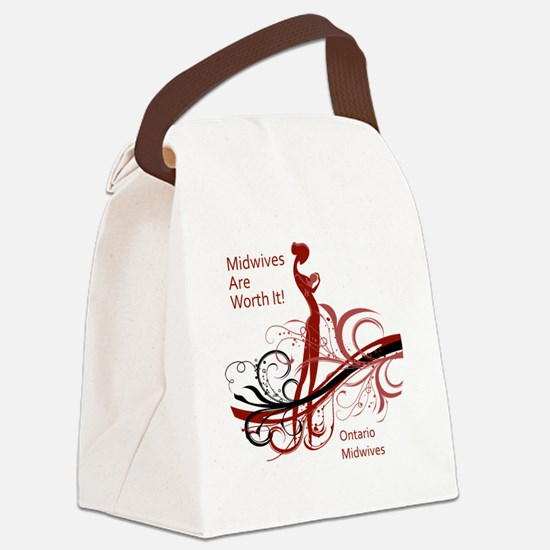 worth it midwives Canvas Lunch Bag