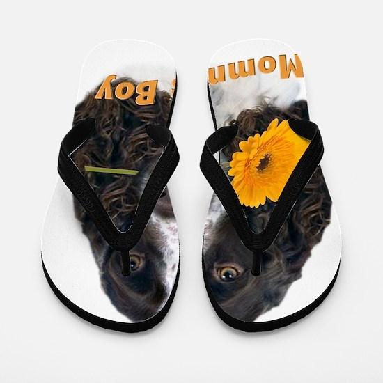 English Springer Spaniel Mommas Boy Flip Flops