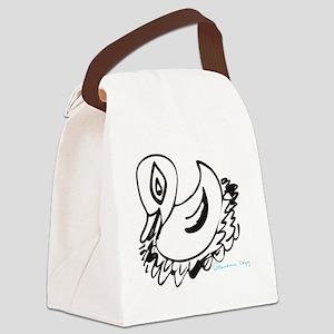 DuckVector Canvas Lunch Bag