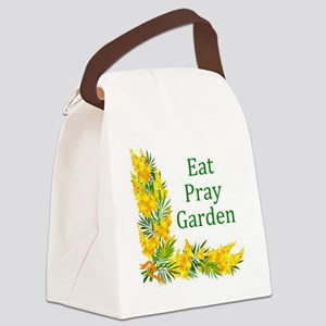 Garden2 Canvas Lunch Bag