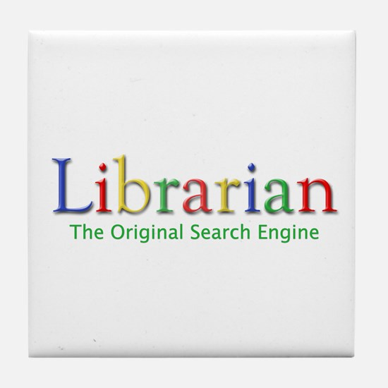 Librarian Tile Coaster