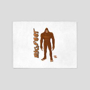 Bigfoot 5'x7'Area Rug
