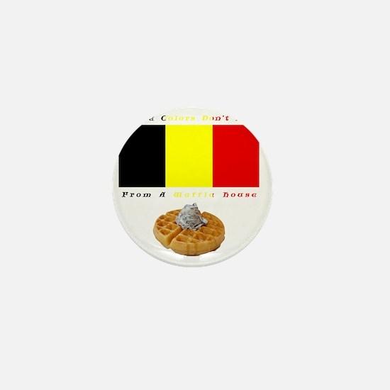 belgian_colors_tee Mini Button