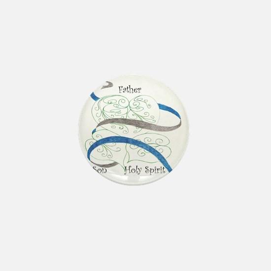 Father, Son, Holy Spirit Mini Button
