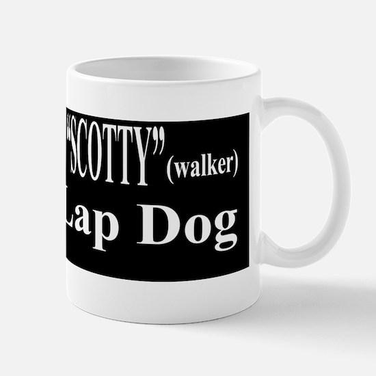 Walker-Kochs LapDog Bumper Sticker Mug