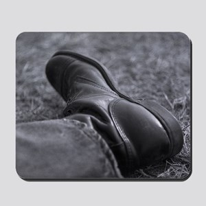 Boot Poster Mousepad