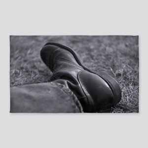 Boot Poster 3'x5' Area Rug