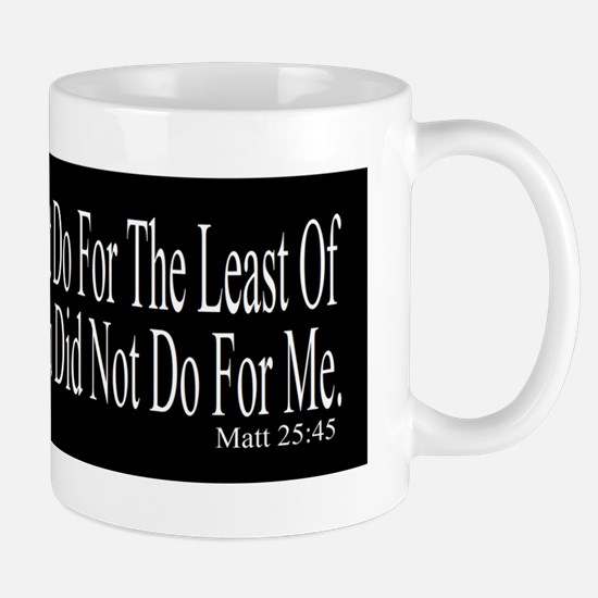 Did Not Do bk-w bumper sticker Mug