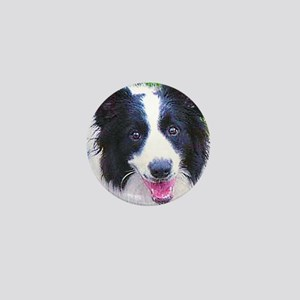 Border-Collie Mini Button