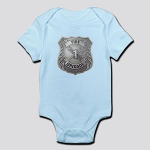 Fire Brigade Badge Body Suit