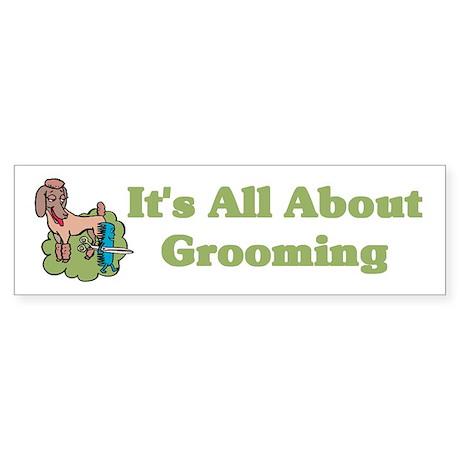Animal Pet Groomer Bumper Sticker