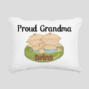 grandma twins Rectangular Canvas Pillow