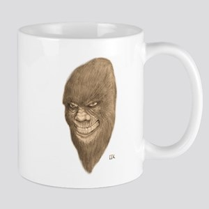 Sasquatch Face Mugs