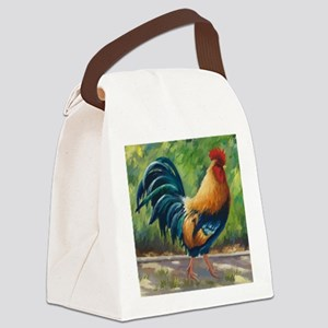 Dezine01_El Rojo (The Red One) Canvas Lunch Bag