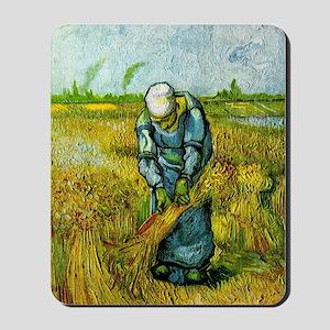 Van Gogh peasant woman Mousepad