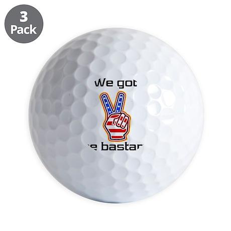 bastard1 Golf Balls