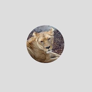The Lioness Mini Button