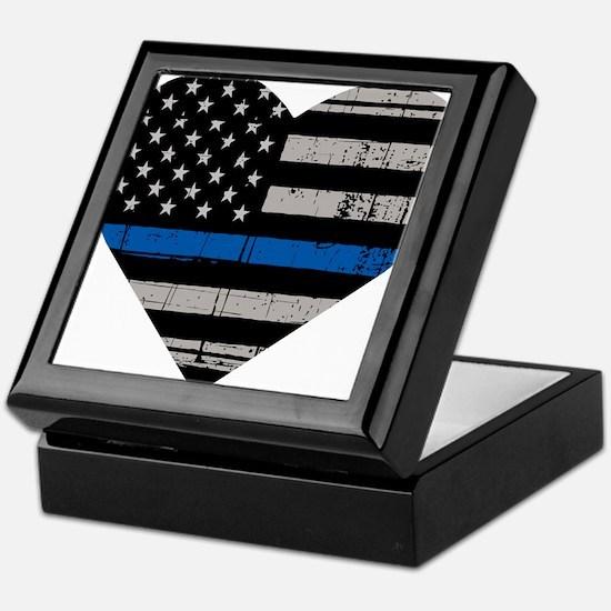 Shop Thin Blue Line Keepsake Box
