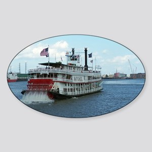 Riverboat Sticker (Oval)