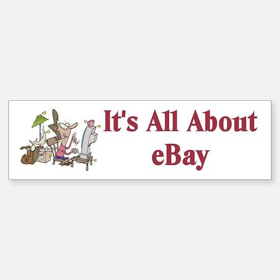 eBay Bumper Car Car Sticker