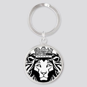 Lion of Judah Round Keychain