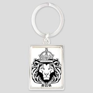 Lion of Judah Portrait Keychain