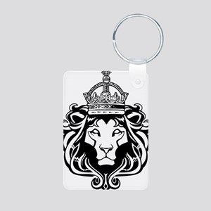 Lion of Judah Aluminum Photo Keychain