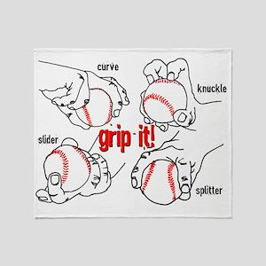 GripItBaseballNoteC. Throw Blanket