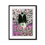 Matisse Papillon Flowers Framed Panel Print