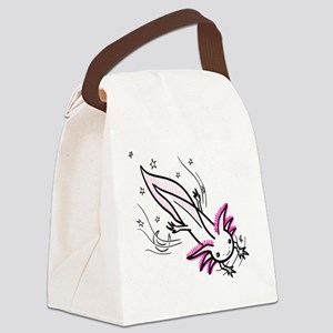 axolotl Canvas Lunch Bag