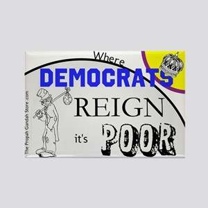 Where Democrats Reign Magnets