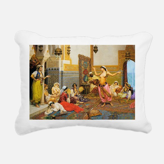 TheHaremDance_5x7_Giulio Rectangular Canvas Pillow