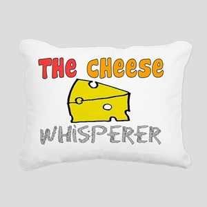 The Cheese Whisperer Rectangular Canvas Pillow