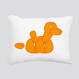 orangeballoondogpoo Rectangular Canvas Pillow