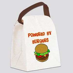 powered by Burgers DARKS Canvas Lunch Bag