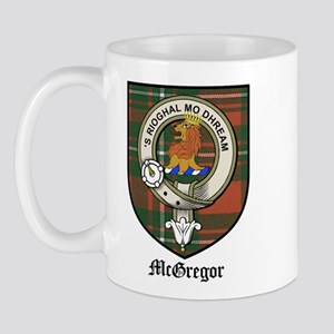 McGregor Clan Crest Tartan Mug